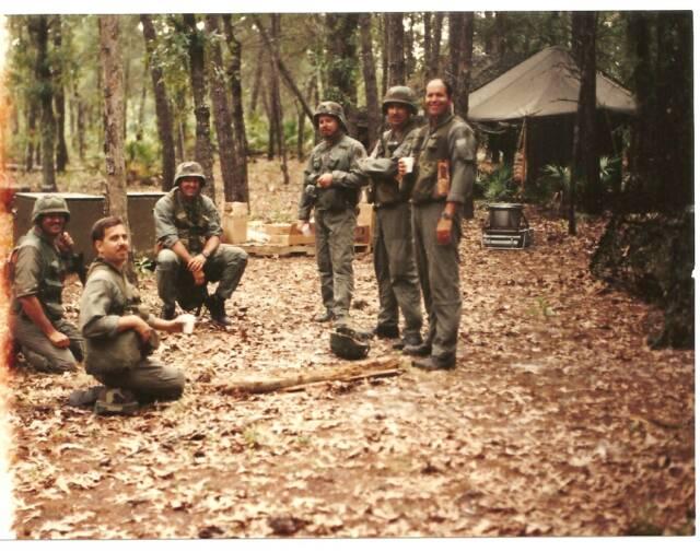 Camp blanding florida unit patches